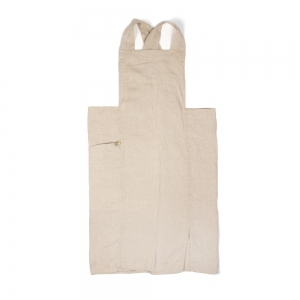 Anita full apron - Natural