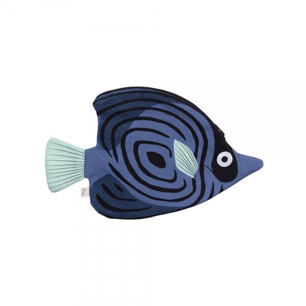Etui - Poisson papillon bleu - Don Fisher