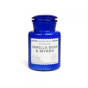 "Candle ""Blue Apothecary""- Mint leaf & cardamom"