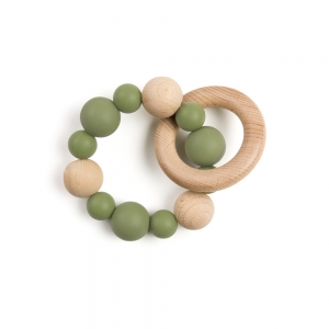 Teething ring - Kaki