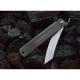 "Couteau pliant ""Higonokami"" - XL - Acier noir"