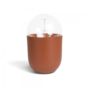 Lampe de table Coco - Terracotta