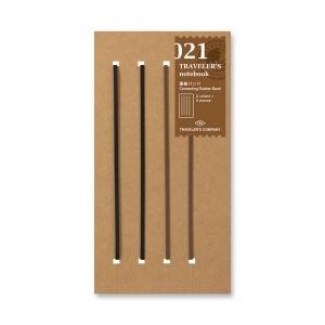 021 - Elastiques à relier ( classique ) Traveler's Notebook