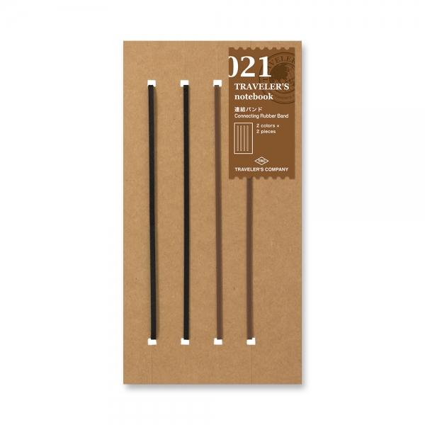 021 élastiques à relier ( classique ) - Traveler's Notebook - Traveler's Company