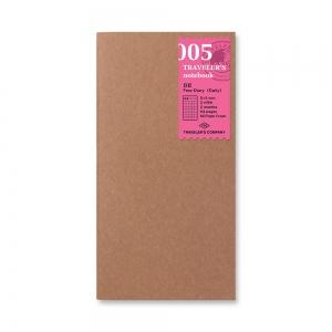 005 - Journal ( classique ) Traveler's Notebook