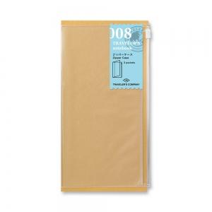 008 pochette zippée ( classique ) - Traveler's Notebook - Traveler's Company