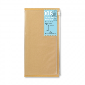 008 - Pochette zippée ( classique ) Traveler's Notebook