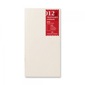 012 - Sketch paper notebook ( regular ) Traveler's Notebook
