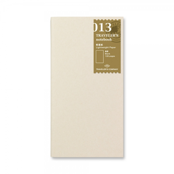 013 Papier fin ( classique ) - Traveler's Notebook - Traveler's Company