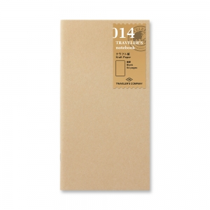 014 - Kraft paper notebook ( regular ) Traveler's Notebook