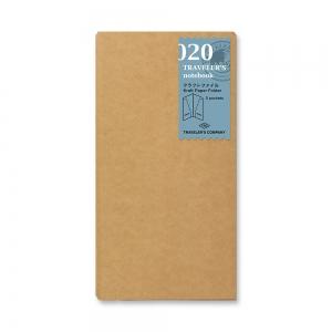 020 - Pochette kraft ( classique ) Traveler's Notebook