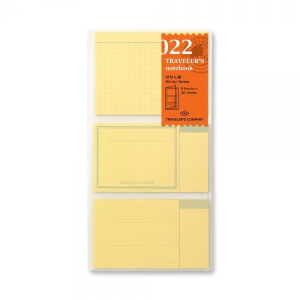 022 mémo adhésif ( classique ) - Traveler's Notebook - Traveler's Company