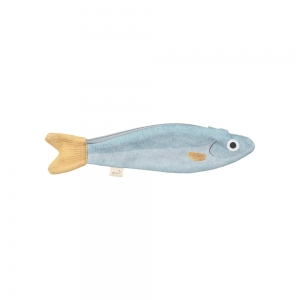 Keychain case - Blue anchovy