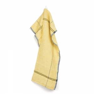 Méli kitchen towel - Yellow