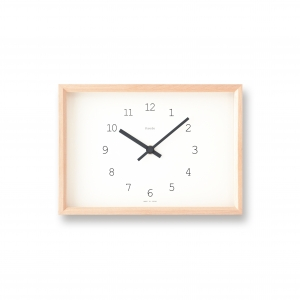 Kaede table clock