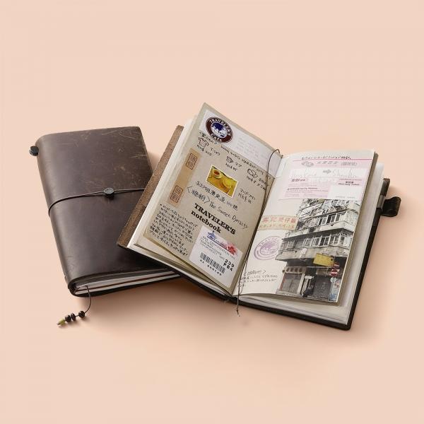 Traveler's Notebook - cuir noir