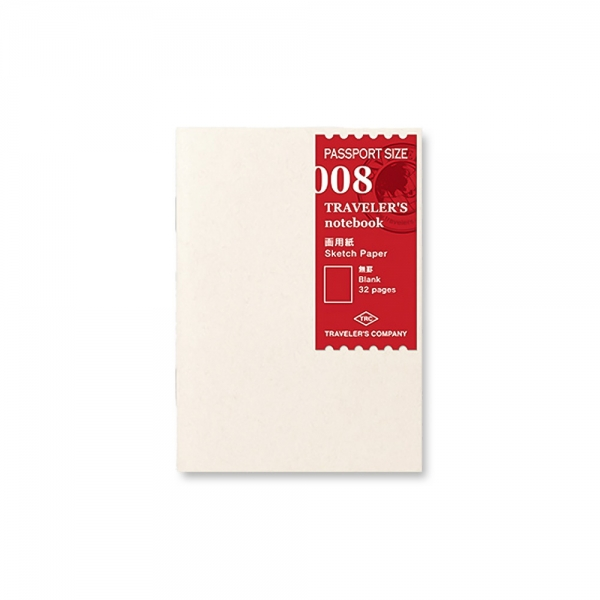 008 - Carnet à dessin ( passeport ) Traveler's Notebook - Traveler's Company