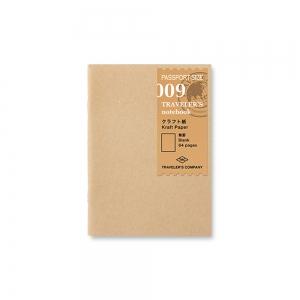 009 - Kraft paper notebook ( passport ) Traveler's Notebook