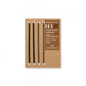 011 - Connecting rubber bands ( passport ) Traveler's Notebook
