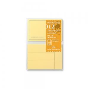 012 - Mémo adhésif ( passeport ) Traveler's Notebook