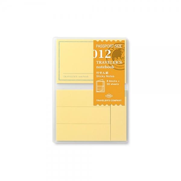 012 - Sticky notes ( passport ) Traveler's Notebook