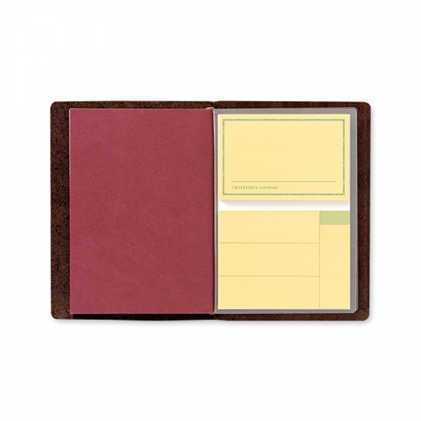012 - Mémo adhésif ( passeport ) Traveler's Notebook - Traveler's Company