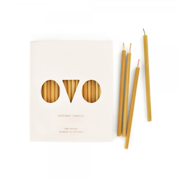 20 bougies d'anniversaire - OVO Things
