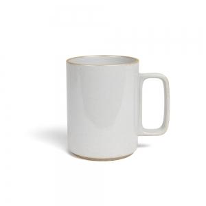 Mug gris émaillé - L
