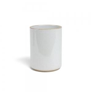 Pot à ustensiles - Gris émaillé