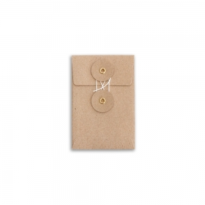 Set of 8 kraft envelopes - S