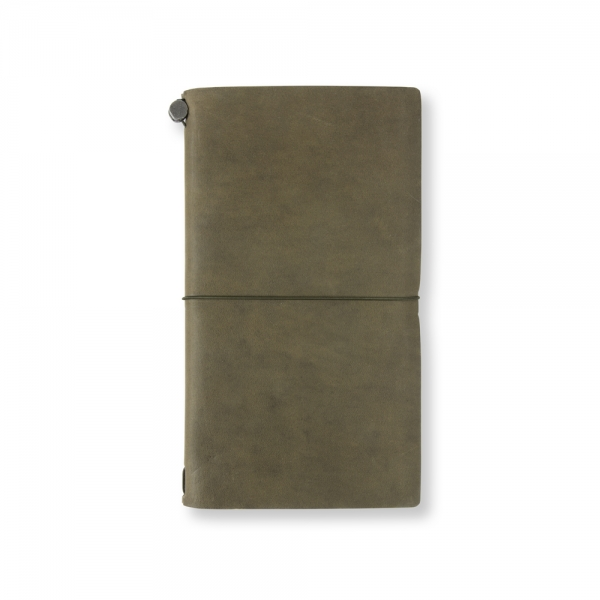 Traveler's Notebook - cuir OLIVE EDITION - Traveler's Company