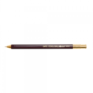 Pencil ball gel ink 0.5mm - Burgundy