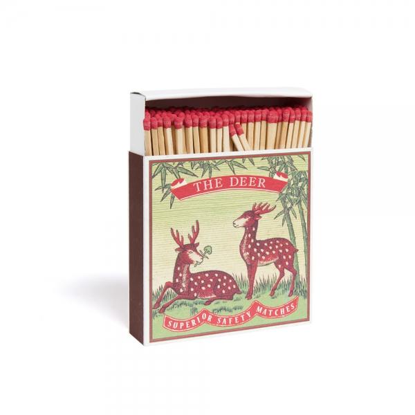Two deer - matchbox