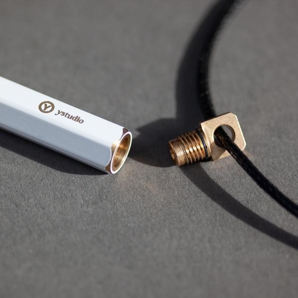 Portable ballpoint pen - Brassing