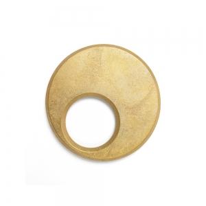 Brass trivet - Moon
