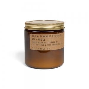 Large candle n°04 - Teakwood & Tobacco