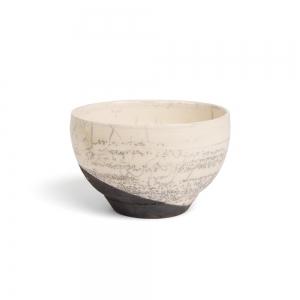 White raku bowl - M