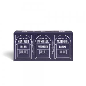 SAVON DE MONTREUIL - Pack 3 savons bio