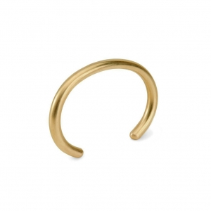 UNIFORM Round - Brass bracelet