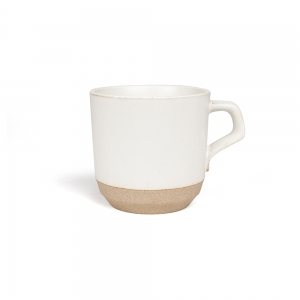 Little mug 110 ml - white & powdered rose