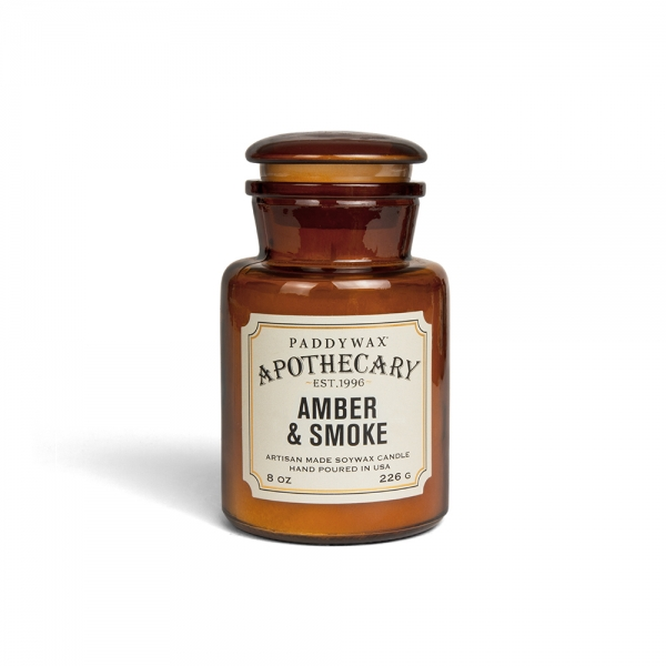 "Bougie ""Apothecary"" - Ambre & Fumée"