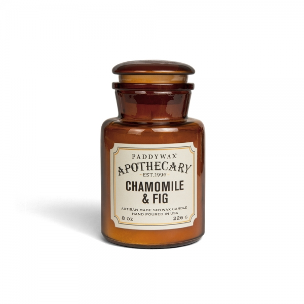 """Bougie Paddywax """"Apothecary"""" - Camomille & Figue"""