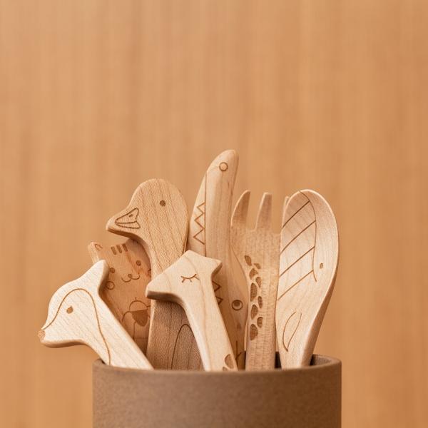 Wooden spoon - Squirrel