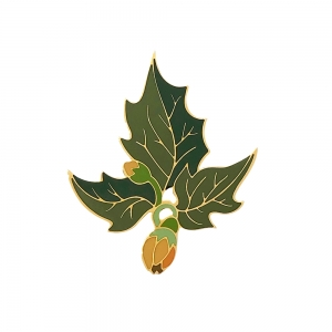 Pin's émaillée - N°2 PHYSALIS CAMPANULES - THE GREEN SECRETS