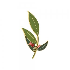 Pin's émaillée - N°6 CADIA RUBRA - THE GREEN SECRETS