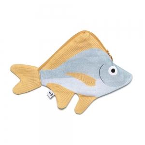 Etui - Silver Biddy bleu - DON FISHER
