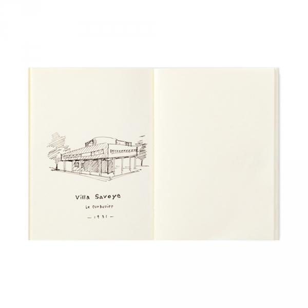 013 - Carnet pages crème ( passeport ) Traveler's Notebook