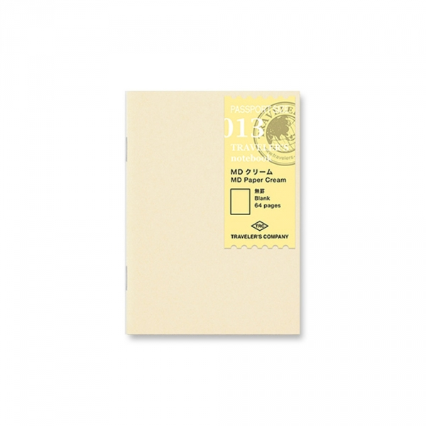 013 - MD Paper cream ( passport ) Traveler's Notebook