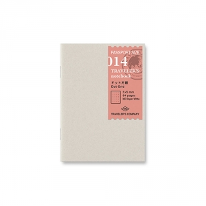 014 - Dot grid ( passport ) Traveler's Notebook