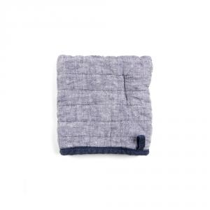 Square oven mitt - Fil blue